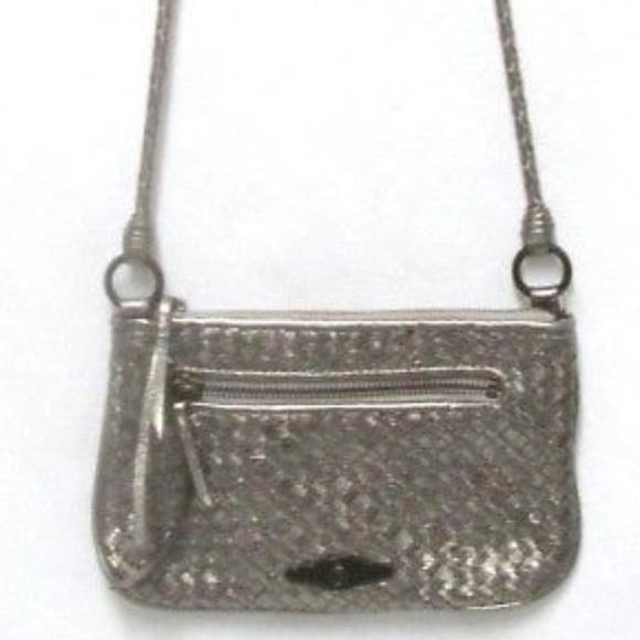 Elliott Lucca Handbags - Elliott Lucca braided leather Crossbody Bag Purse bc86fdd134882